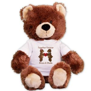 Personalized Couples Teddy Bear GU4030286-4731