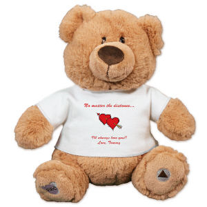 Long Distance Relation Ship Teddy Bear GU4031018-4795