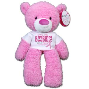 Save the Boobies Breast Cancer Awareness Bear - 14