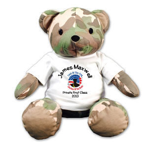 Land of the free Military Teddy Bear - 12