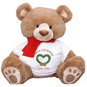 Plush Christmas Teddy Bear - 33