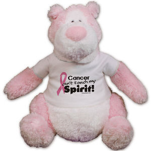 Pink Hope Ribbon Spirit Teddy Bear GU74957-5588
