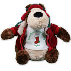 Personalized Christmas Stocking Teddy Bear - 10