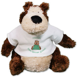 Personalized Get Well Stuffed Animal - 12