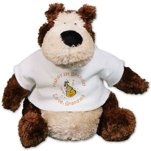 Personalized Birthday Teddy Bear - 10