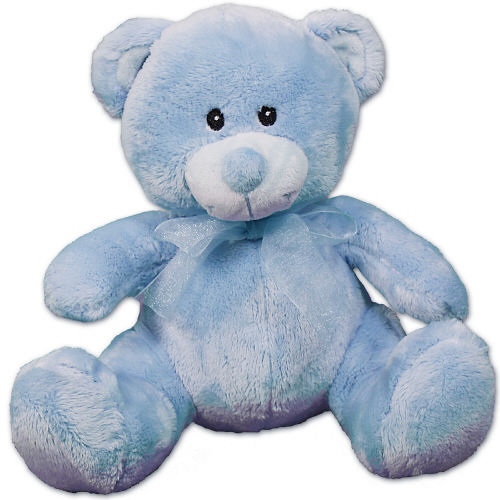 Personalized New Baby Blue Teddy Bear 8 Quot 800bear Com