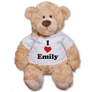 Personalized I Love You Teddy Bear GU15015-969