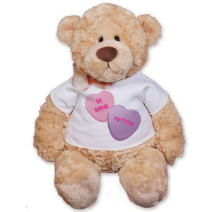 Personalized Be Mine Teddy Bear GU15016-5330