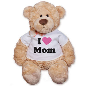 Personalized I Love Teddy Bear GU15016-5814