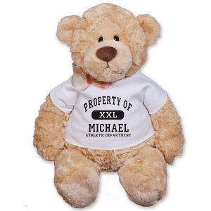 Personalized Property Of Teddy Bear - 12
