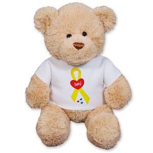 Personalized Military Ribbon Teddy Bear GU15422-2276