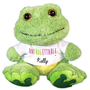 UNFROGETTABLE Plush Frog AU08684-8232