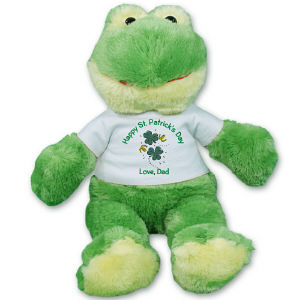 Irish Clovers Jules the Frog AU50176-5603