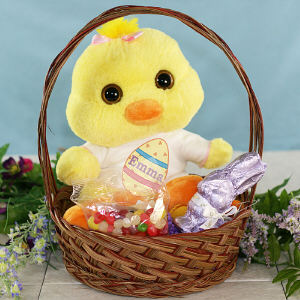 Flapper Easter Gift Basket GBAU08686 - 1537