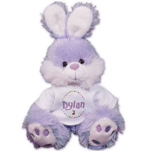 Personalized Purple Easter Bunny MT3388SPR-3959
