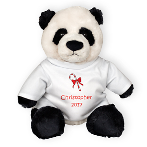 Personalized Zi-Bo 12in Panda Bear GU320707-4628