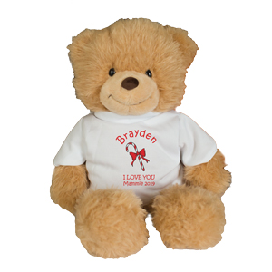 Personalized Holiday Ginger Bear GU405911-4628X