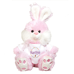 Personalized Pink Easter Bunny MT3388SPK-3959