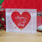 Engraved Couples Keepsake Block 8B749793
