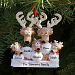Personalized Reindeer Family Ornament 8B84653X