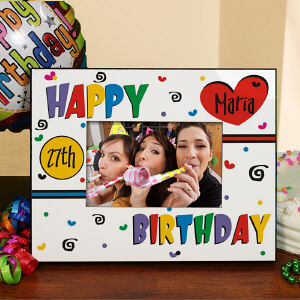 Personalized Birthday Printed Frame