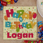 Personalized Birthday Square Puzzle 8B655711