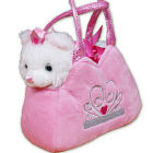 Embroidered Princess Kitten Fancy Pal Purse E8BEMB0075