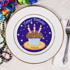 Personalized Birthday Cupcake Plate 8BU556912