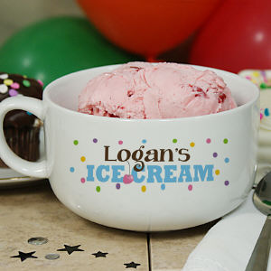 Personalized Ice Cream Bowl 8BU429623