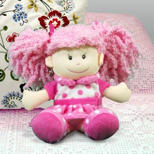 Embroidered Posy Rag Doll E701287