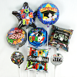Graduation Mini Balloons MBGRADX