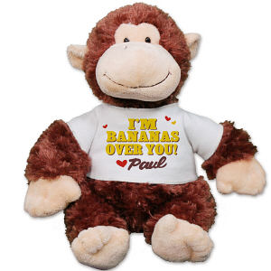 Personalized Bananas Over You Chimp - 12
