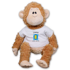 Personalized Happy Father's Day Monkey GU31084-5066
