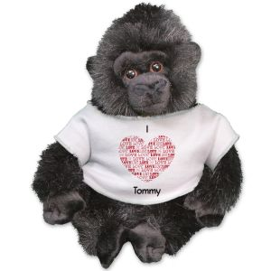 Personalized I Love You Gorilla - 11