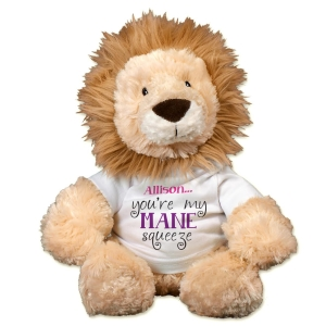 You're My Mane Squeeze Lion AU30864-8226