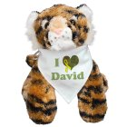 Personalized I Love You Military Tiger AU31465-1836
