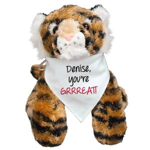 You're Grrreatt Plush Tiger - 12