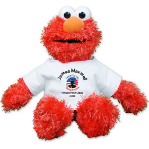 Personalized Land Of The Free Military Elmo GU75351-5753