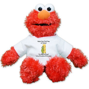Personalized Back to School Elmo GU75351-5093