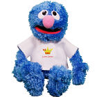 Personalized #1 Dad Plush Grover - 13