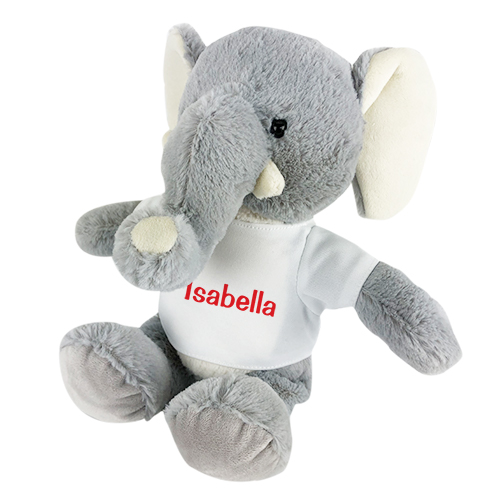 Personalized Elephant Stuffed Animal | Stuffed Animal Toy