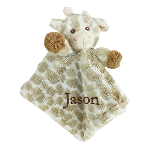 Embroidered Baby Gifts | Baby Giraffe Blankie