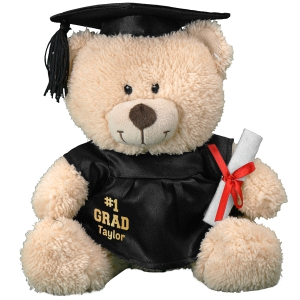 Number One Grad Plush Teddy Bear- 11