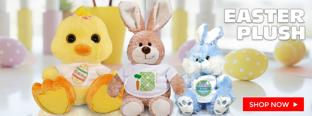 Easter Bunnies and Plush