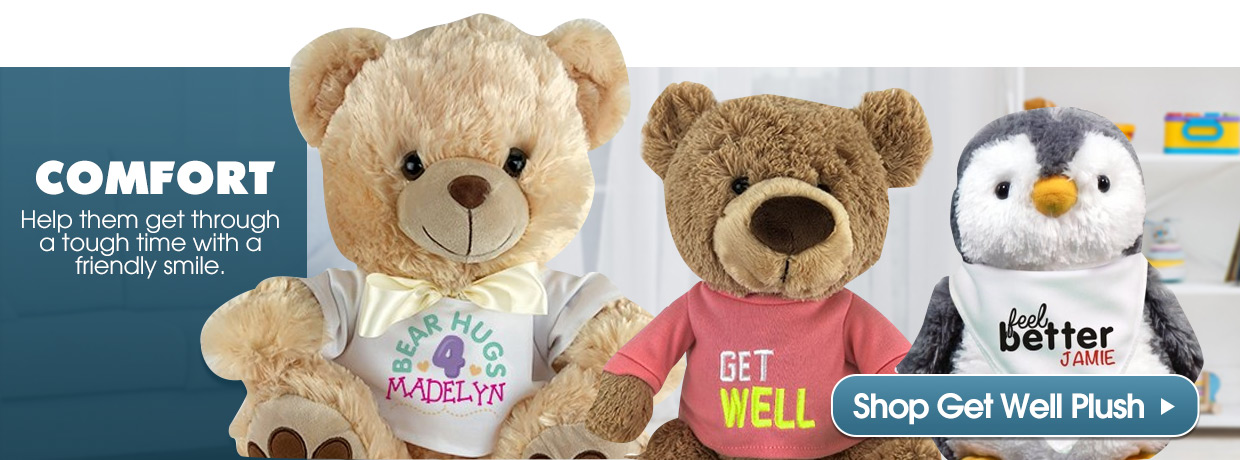 Get Well Plush