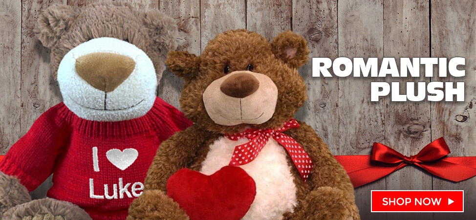 Celebrate Valentine's Day with a Personalized Teddy Bear and Plush Animal!