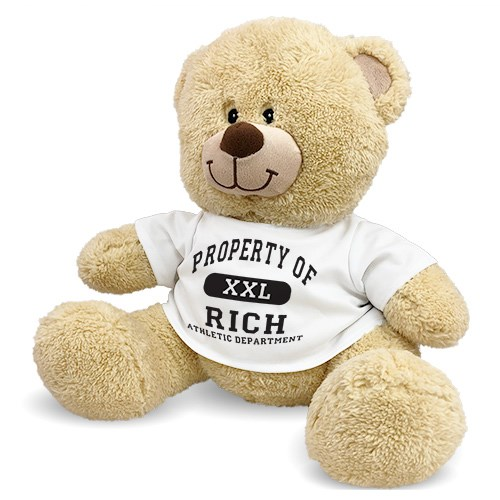 Personalized Propert Of Teddy Bear 831226X