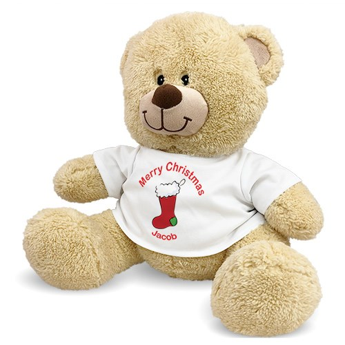 Personalized Christmas Stocking Teddy Bear 834988X