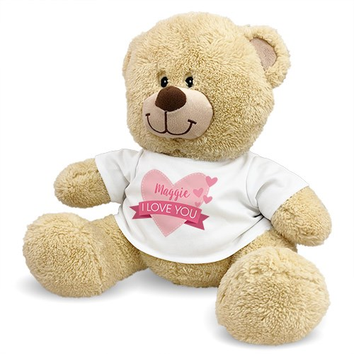 Personalized Love You Teddy Bear 8312449X