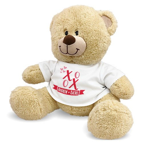 Personalized XOXO Sherman Bear 8314063BX